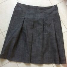 SIZE 14 GREY PLEATED SKIRT