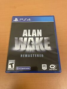 Alan Wake Remastered For Sony Playstation 4 And PlayStation 5