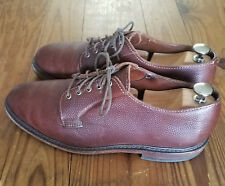 Allen Edmonds Gridiron men's shoes size 9, brown football leather, made in USA