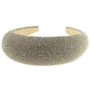 Ladies Girls Sparkly Glitter Wide Thick Chunky High Headband Alice Band