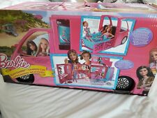 Barbie Glam Camper, Excellent Condition