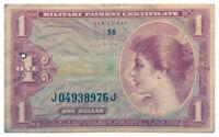 1965-1968 $1 U.S. Military Payment Certificates Vietnam-Era Series 641 SKU54016