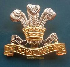 ROYAL HUSSARS CAP BADGE (A)