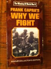 The Winning Of World War 2 Video Vhs Frank Capra's Why We Fight