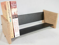 Oak Slate Design Book Rack - Modern Contemporary Style