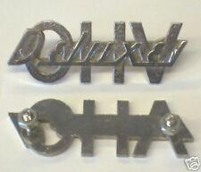 52-57 Panhead DELUXE O.H.V. FENDER EMBLEM SET 91583-52