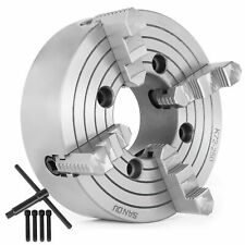 "K72-250 10"" 4 Jaw Lathe Chuck Independent Cast Iron Milling Machine External Jaw"