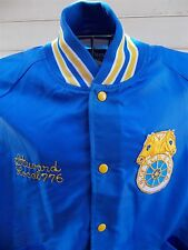 Vintage Butwin  Varisty Jacket Teamsters Union Steward Local 776 Nylon USA
