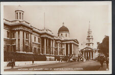 London Postcard - National Art Gallery and St Martin's Church    RS5194