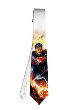 Superman Comic Hero Movie Necktie Neck Tie Anime Manga Child Cosplay Gift