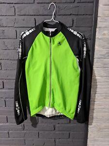 Giordana WindTex fleece lined winter Cycling Jacket - Size S