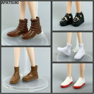 """Fashion Wedge Platform Heel Shoes for 11.5"""" 1/6 Doll Sandals Sneakers for Blythe"""