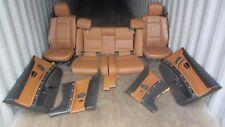 BMW E93 CONVERTIBLE SEATS SEAT DOOR PANEL FRONT REAR CONSOLE SET 328i 335i OEM