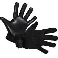Gaelic Gloves Black White Retro Red