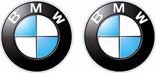 2 BMW logo decals  FREE SHIPPING