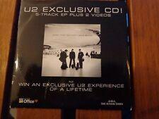 U2 - EXCLUSIVE CD  - CDs ORIGINAL PRESS - PROMO