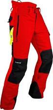 Pfanner Ventilation Schnittschutzhose M Rot
