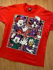 1990s Vtg Mickey Mouse Large T Shirt By Jerry Leigh Unlimited Made USA Disney