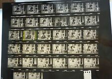 GRACE SLICK MUSIC LOT 35MM SLIDE NEGATIVE CONTACT PROOF SHEET PHOTO