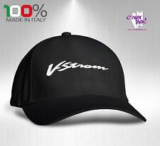 Cappello Berretto Hat Cappellino Houston 5 pannelli NERO - SUZUKI V-STROM