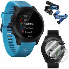 Garmin Forerunner 945 Gps Sport Watch Blue + Screen Protector 2-Pack Bundle