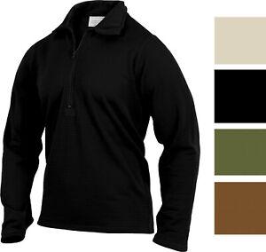 Gen III Level II Anti-Microbial Military Thermal Underwear ECWCS Top Shirt