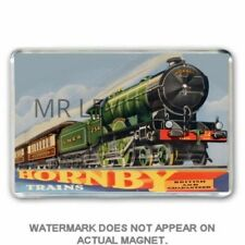 HORNBY TRAINS SHOP DISPLAY ARTWORK JUMBO Fridge / Locker Magnet