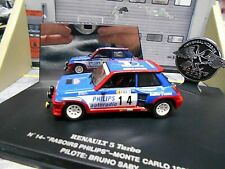 RENAULT 5 Turbo Rallye Monte Carlo 1983 #14 Saby Philips UH Eagles Race 1:43