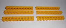 Lego (2730) 6 Lochsteine 1x10x1, in gelb aus 8275 8868 7249 8098 8439 8438 7900