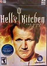~ Hell's Kitchen The Game For [PC MAC] CD-ROM GORDON RAMSEY