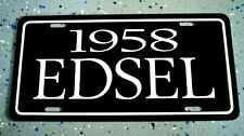Your Choice of Ford Edsel License plate car tag 1958 1958 0R 1960