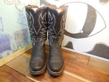 Dan Trujillo Boot Shop Brown Leather Boots Possibly Custom Womens 6.5 (see msmt)
