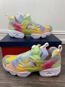 Reebok InstaPump Fury Pride Men Women LGBTQ Shoes FX4775 Men's Size 13
