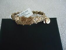 Alex and Ani HAND OF FATIMA WRAP Russian Gold Bangle New W/ Tag Card & Box