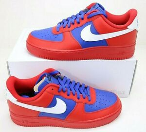 Nike By You ID Air Force 1 Low USA Custom CT7875 994 Men's Size 12 Patriotic