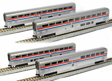 KATO 1063517 N Scale Amtrak Superliner Phase III 4 Passenger Car Set A 106-3517