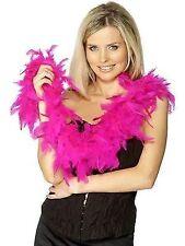 Ladies Boa 50g Fuchsia Feather 150cm Womens Fancy Dress