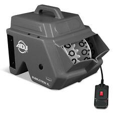 American DJ Adj Bubbletron XL High Output Bubble Machine Party Disco Remote
