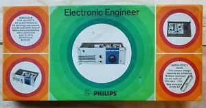Vintage Philips EE1003 Electronic Engineer Set Educational Kit - Circa 1970s