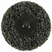 Abracs Quick Lock 50mm 75mm Poly Wheel Disc ABPOLYSM Rust Paint Removal Car Body