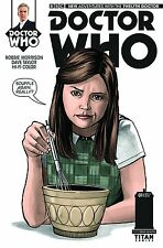 DOCTOR WHO the 12th dr #1 1:10 JENNA COLEMAN variant PETER CAPALDI TITAN TV BBC