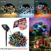 24M LED String Fairy Lights String Indoor/Outdoor Backdrop Wedding Xmas Party UK