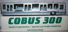 Cobus 300 Flughafenbus 1/87 H0 Bus NEU+OVP NZG Nr. No 372 Airfield bus