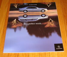 Original 2001 Mercedes Benz E-Class Sales Brochure E320 E430 E55 AMG