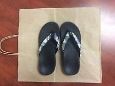 Women's Vionic Black Rubber Flip Flops Sandals Size 7