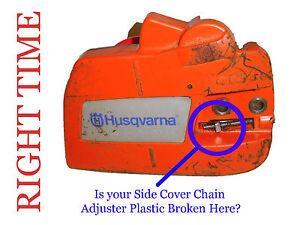 Husqvarna 120  136 137 235 236 Repair Plate for Broken Chain Brake Casing