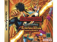 ## SEGA SATURN - Fire ProWrestling S 6 Men Scramble (JAP / JP Import) - TOP ##