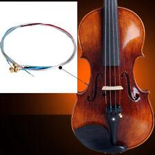 Nuova muta 4 corde lega alluminio-magnesio per violino 3/4 e 4/4 tensione media