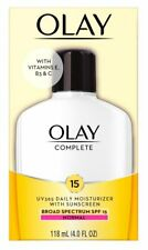 Olay Complete All Day Moisturizer with Sunscreen SPF 15 Normal 4.0 Oz