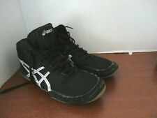 ASICS MATFLEX~Black WRESTLING SHOES~C545N~Men's / Boys Size 6